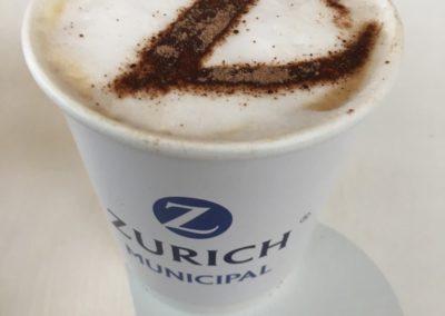 Logo Cups & Stencil